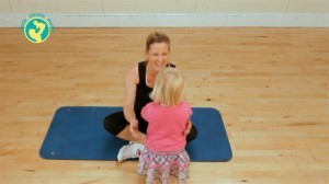 The-Blast-Workouts-Mummy-Tummy-with-Alice-out-take-with-Poppy-on-set-300x168
